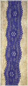 "Indigo 1.3"" Stretch Lace Trim"