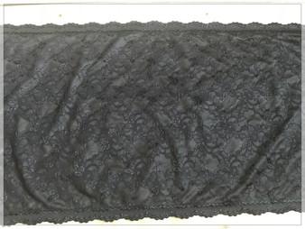 Ultra wide Black Lace Trim