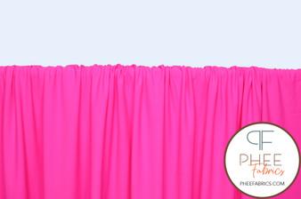 Hot Pink Nylon/Spandex Tricot