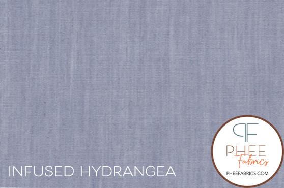 Infused Hydrangea Denim