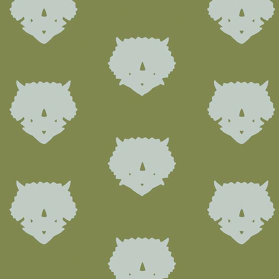 Triceratops Olive