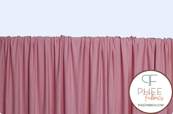 Light Pink Rayon Spandex