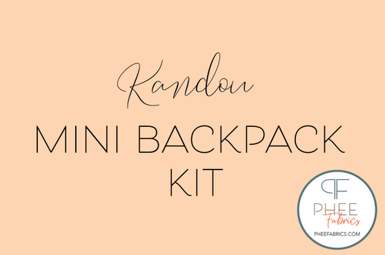 Kandou Mini Backpack Kit
