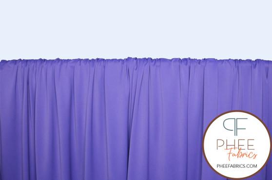 Purple Circular Knit