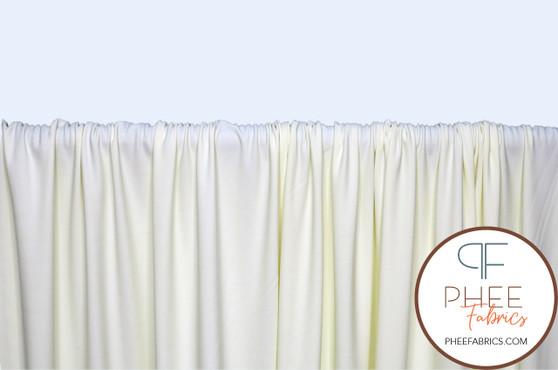 Ivory Nylon/Spandex Tricot