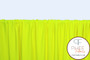 Neon Yellow Matte Nylon/Spandex Tricot