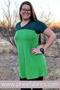 Lime Green Rayon Spandex