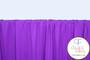 Purple Nylon/Spandex Tricot
