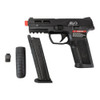 ICS BLE-XAE GREEN GAS BLOWBACK AIRSOFT PISTOL - BLACK