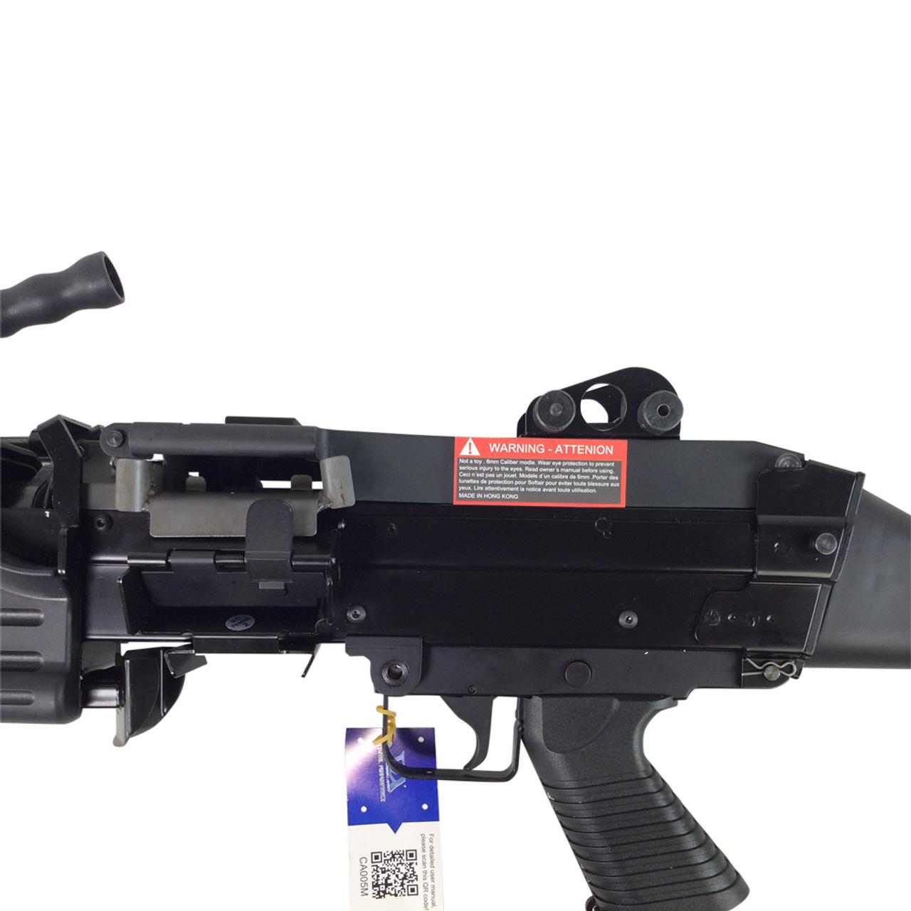 CLASSIC ARMY M249 MKII SAW AIRSOFT LMG AEG - BLACK