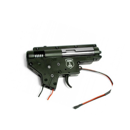 M4 6MM COMPLETE GEARBOX FRONT WIRED for $79.99 at MiR Tactical