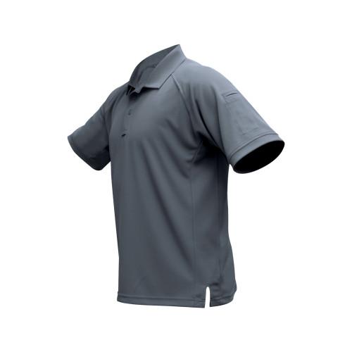 Vertx Coldblack S/s Polo Gry Lrg