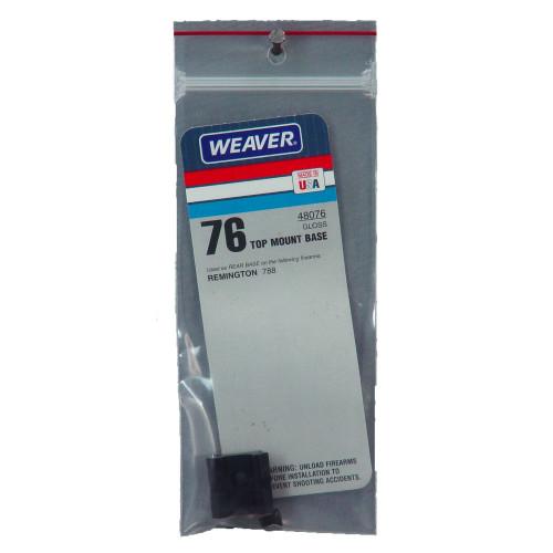 Weaver #76 Rem 788 Rear Base