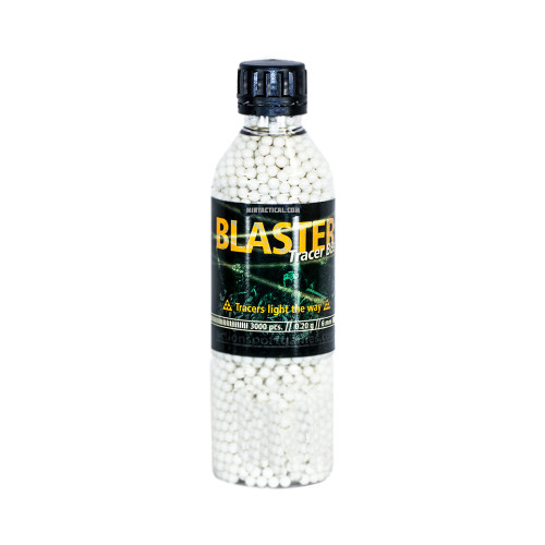 BLASTER 0.20G TRACER BBS 3000 COUNT AIRSOFT for $17.99 at MiR Tactical