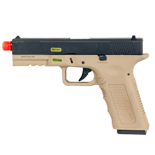 TIMBERWOLF GBB AIRSOFT PISTOL TAN W/CASE