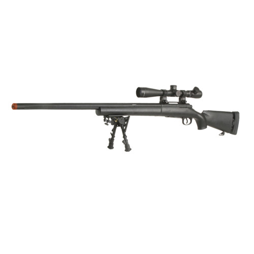M28 SPRING AIRSOFT SNIPER RIFLE BLACK