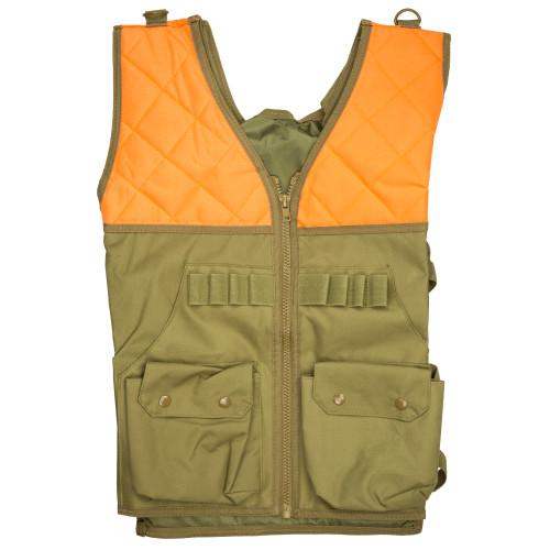 Ncstar Vism Hunting Vest Org/tan