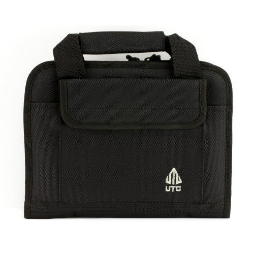 Utg Deluxe Single Pistol Case Blk