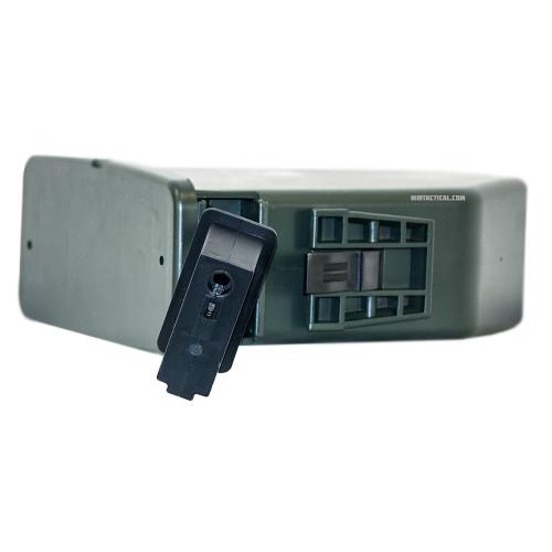 SAW AIRSOFT 2500 RND ELECTRIC BOX MAG for $79.99 at MiR Tactical