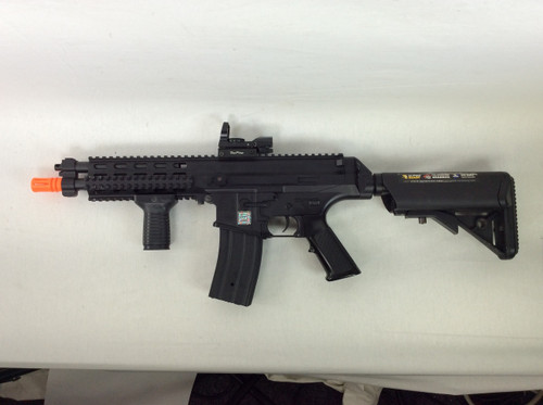 ECHO 1 XCR AEG BLACK CERTIFIED USED AIRSOFT