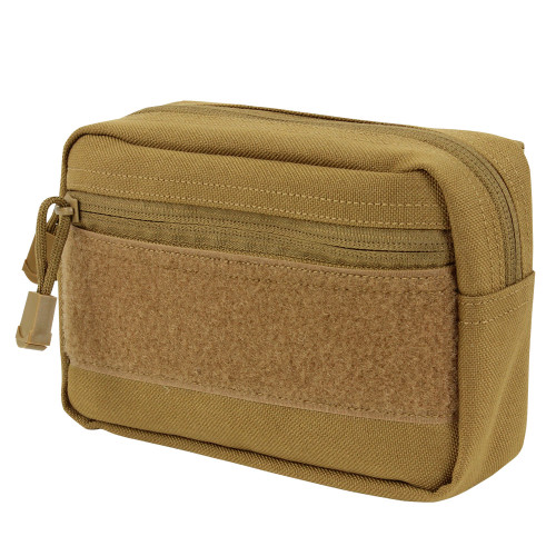 COMPACT UTILITY POUCH COYOTE BROWN