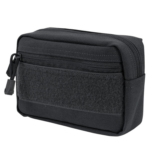 COMPACT UTILITY POUCH BLACK