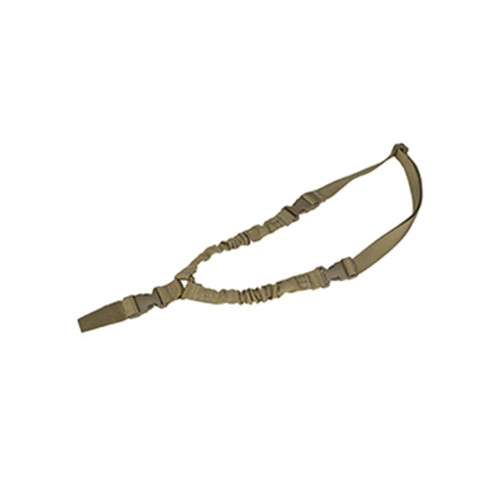 DUAL BUNGEE ONE POINT SLING TAN for $18.99 at MiR Tactical