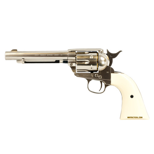 COLT SINGLE ACTION ARMY 45 AIRGUN NICKEL