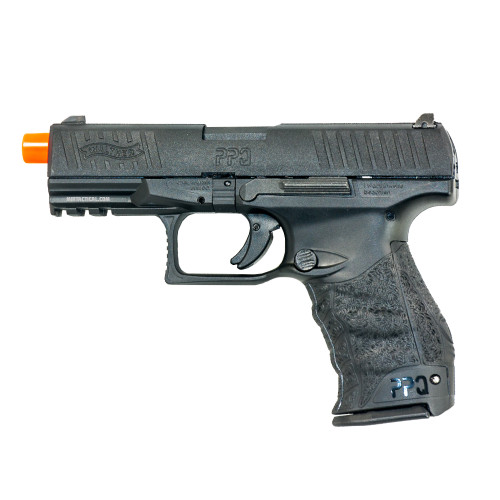UMAREX WALTHER PPQ M2 CO2 BLOWBACK AIRSOFT PISTOL - BLACK