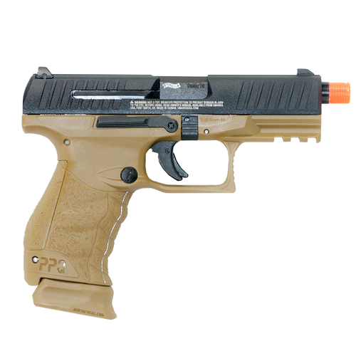 UMAREX WALTHER PPQ M2 CO2 BLOWBACK AIRSOFT PISTOL - FDE for $109.99 at MiR Tactical