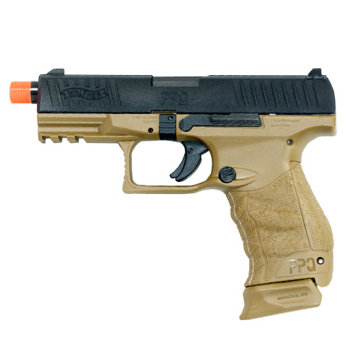 UMAREX WALTHER PPQ M2 CO2 BLOWBACK AIRSOFT PISTOL - FDE