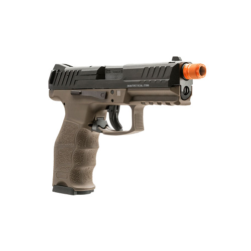 HK VP9 GBB AIRSOFT TWO TONE BLK/DE 6MM for $149.95 at MiR Tactical