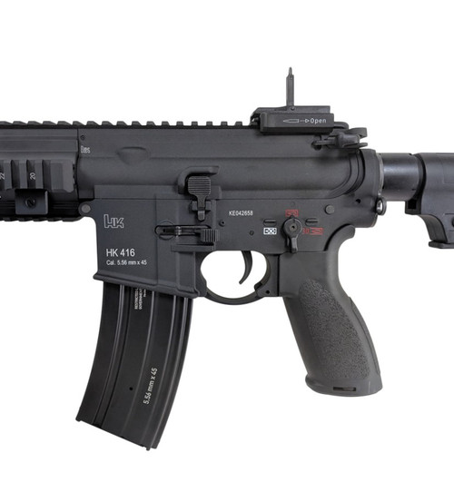 HK 416 CQB AIRSOFT AEG BLACK ELITE