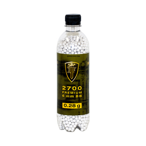 ELITE FORCE PREMIUM 0.28 GRAM AIRSOFT BBS - 2700 COUNT for $13.99 at MiR Tactical