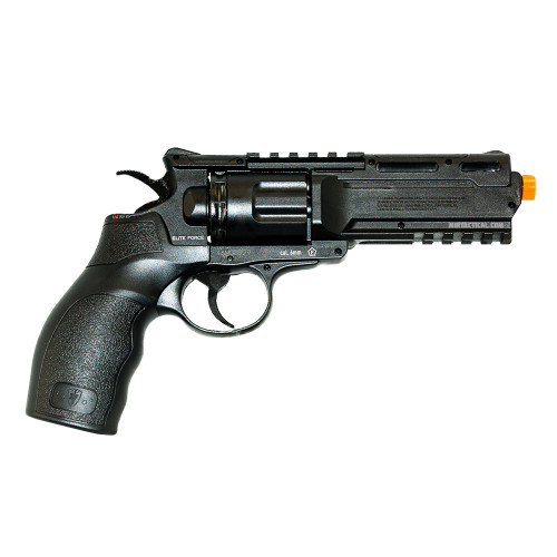 H8R AIRSOFT REVOLVER BLACK