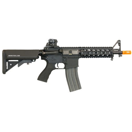 G&G CM16 RAIDER M4/M16 AIRSOFT SBR AEG - BLACK