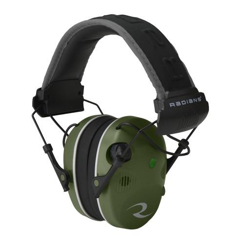 Radians R3400 Elec Muff Grn/blk