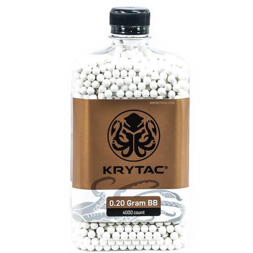 KRYTAC 0.20 GRAM AIRSOFT BBS - 4000 COUNT