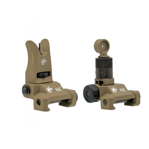 KNIGHT`S ARMAMENT AIRSOFT IRON SIGHT TAN for $26.99 at MiR Tactical