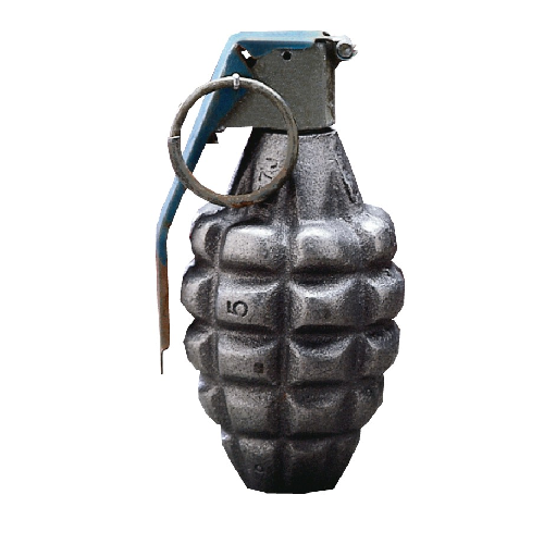 Inert Grenade Paperweight