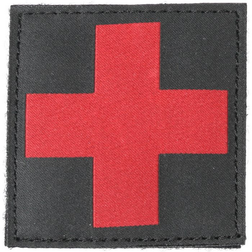 Red Cross Medic Id Patch