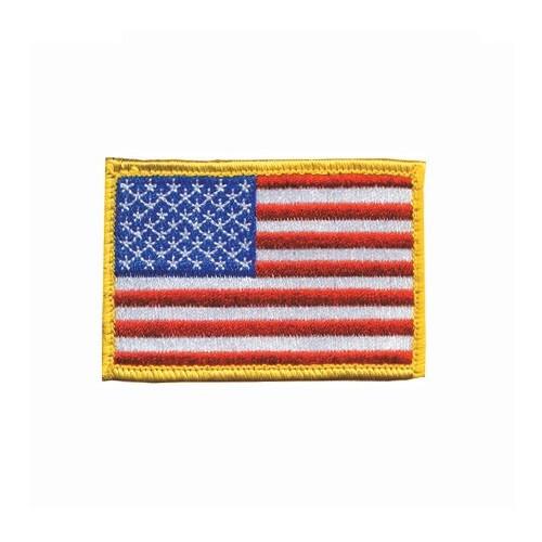 American Flag W/ Velcro Patch - BH-90RWBV-R