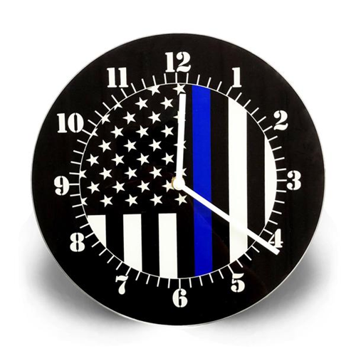 Thin Red Line American Clock