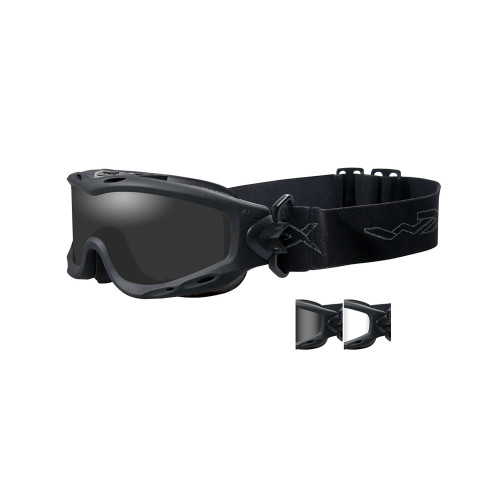 Wiley X Spear Goggles Smk Gry Matte