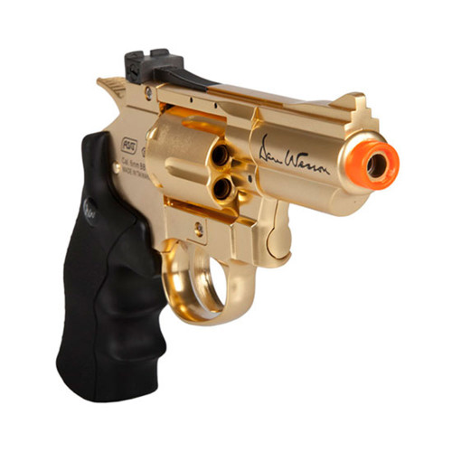 DAN WESSON 2.5` GOLD AIRSOFT REVOLVER CO2 for $149.99 at MiR Tactical