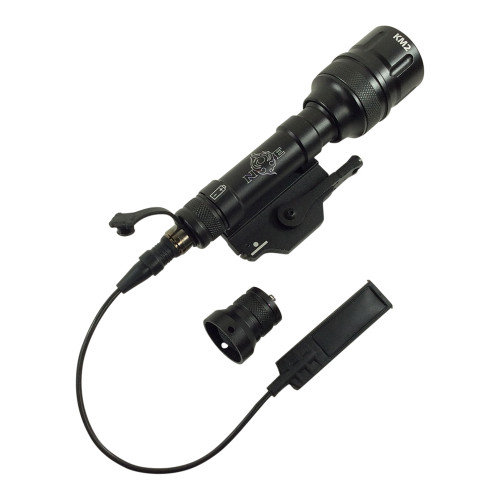 BRAVO SCOUT V TACTICAL FLASHLIGHT WITH PRESSURE SWITCH 180 LUMES