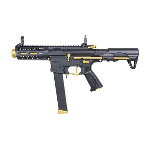 G&G CM16 ARP 9 AIRSOFT SMG AEG - GOLD