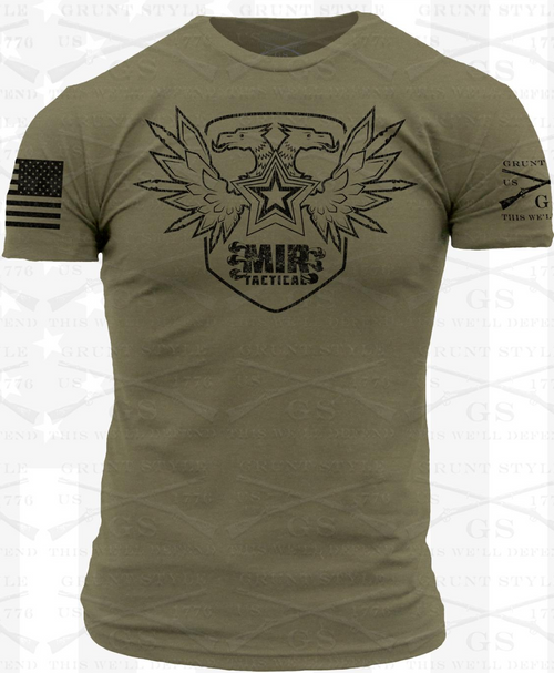 MIR GREEN SHIRT BLACK EAGLE