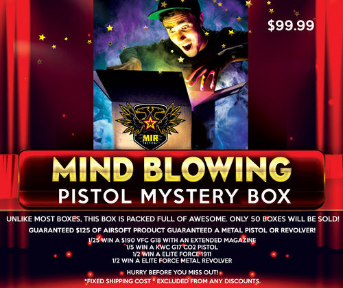 MIR'S MIND BLOWING PISTOL MYSTERY BOX