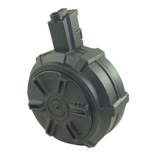 MP5 AIRSOFT DRUM MAG 1500 RND BLACK